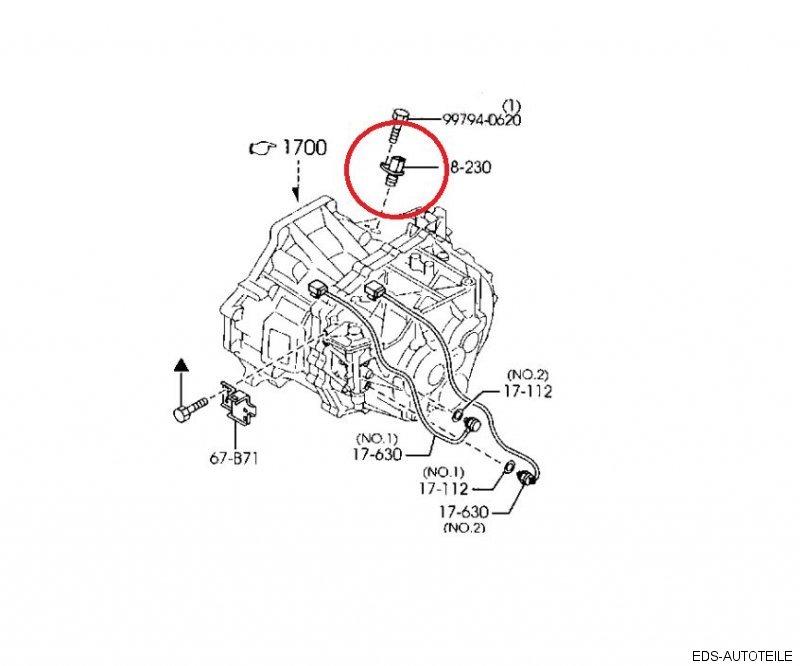 Mazda 3, 5, 6 2,0 Diesel RF7J RF8G 18221