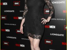 Christina Hendricks: Mad Men Premiere Party!: Photo 2468003 | Christina Hendricks, Elisabeth ...