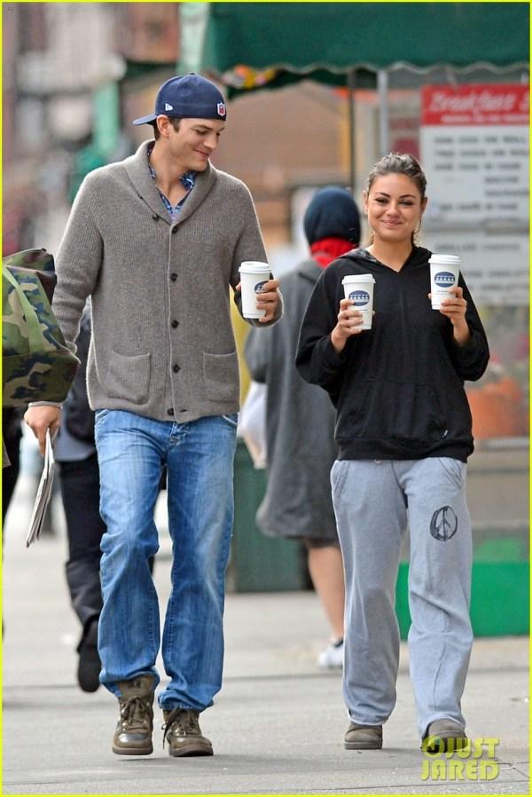 Ashton Kutcher Girlfriend Mila Kunis