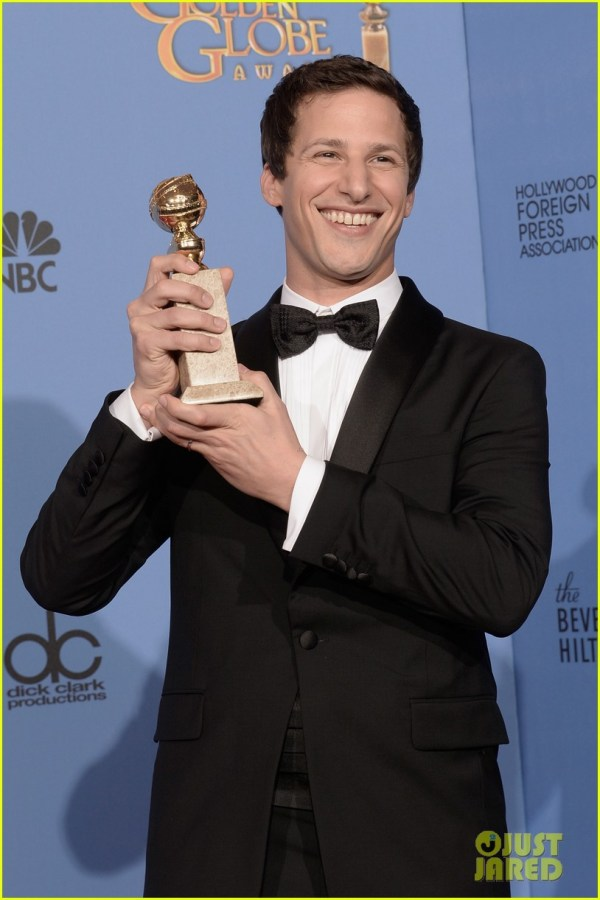 Andy Samberg Wins Tv' Comedy Actor Golden Globes 2014 3029640