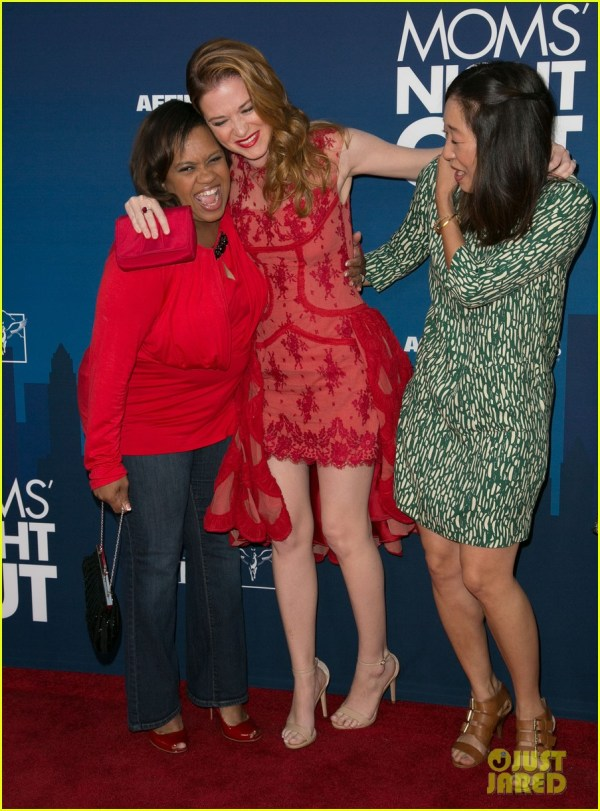 Full Sized Of Greys Anatomy Cast Supports Sarah Drew Moms Night Premiere 05