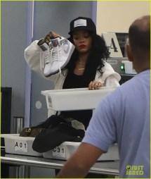 Rihanna Airport Security