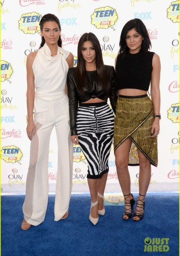 kendall kylie jenner teen choice awards 2014 03