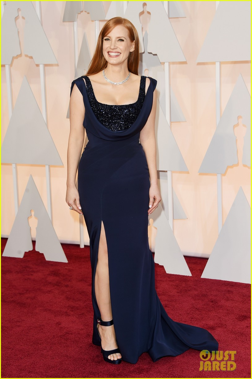 jessica chastain oscars 2015 03