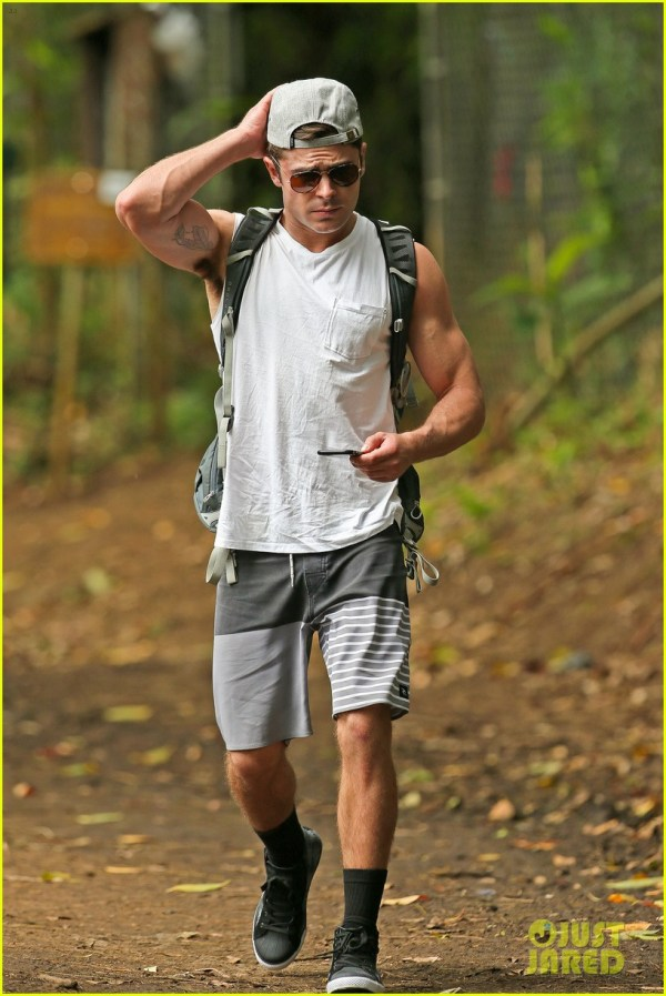 Zac Efron Ripped Muscle