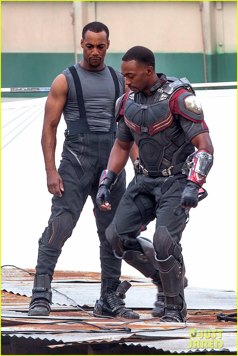 Captain America: Civil War Set Photos & Videos 69