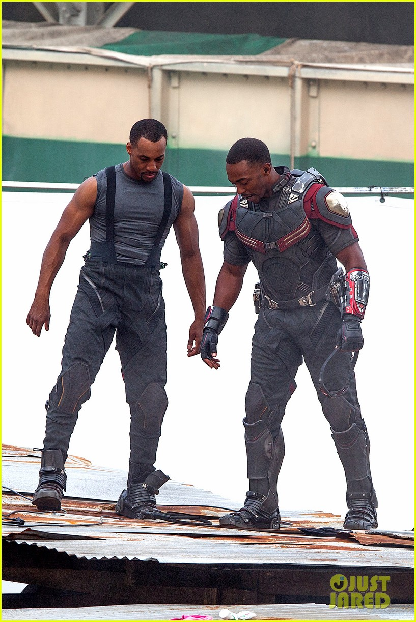 Captain America: Civil War Set Photos & Videos 78