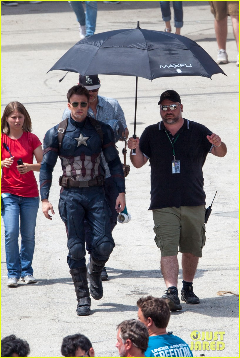 Captain America: Civil War Set Photos & Videos 86
