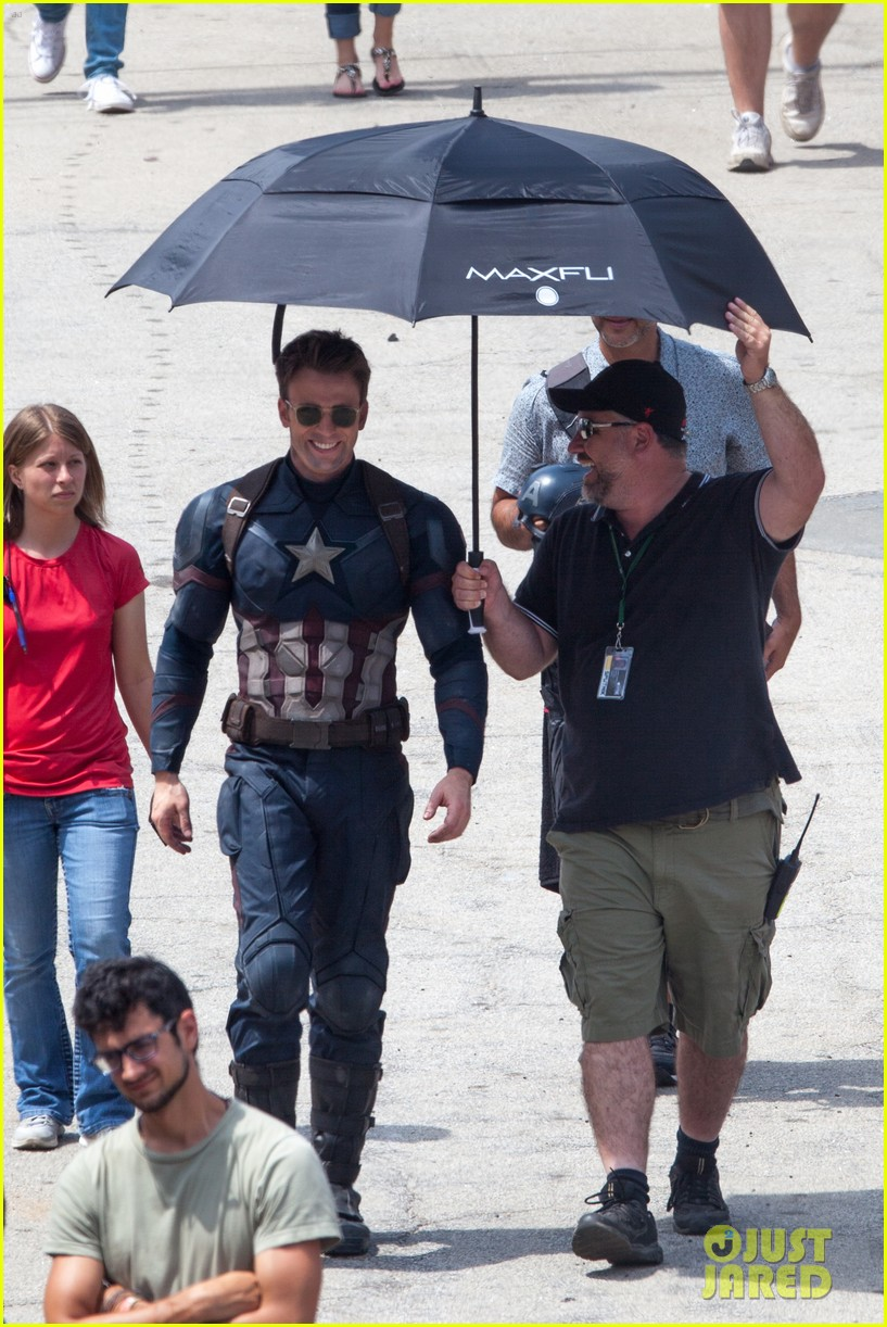 Captain America: Civil War Set Photos & Videos 91