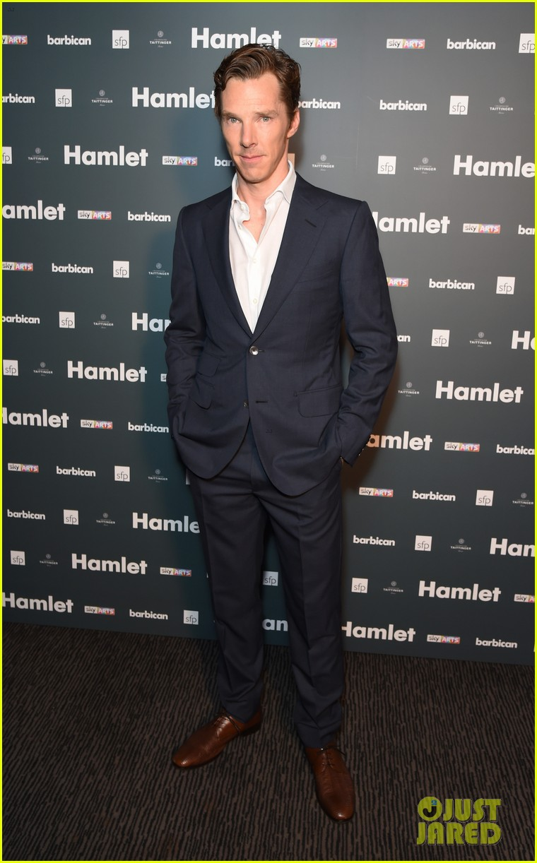benedict cumberbatch dan stevens couple up at hamlet after party 02