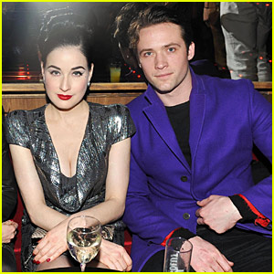 Dita Von Teese Amp Louis Marie Paris Fashion Week Pair