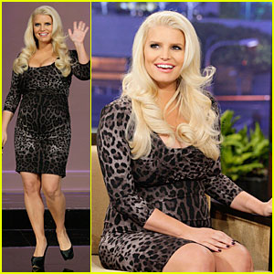 Jessica Simpson: 'Tonight Show with Jay Leno' Appearance!