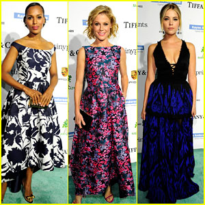 Kerry Washington & Julie Bowen Are Pretty in Prints at the Baby2Baby Gala