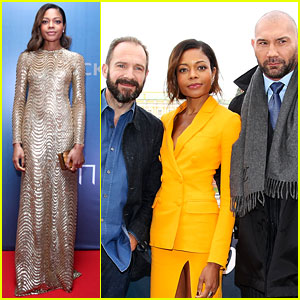 Spectre's Naomie Harris Continues to Be the Best Dressed!