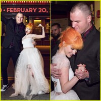 Paramores Hayley Williams Wedding Photos to Chad Gilbert ...
