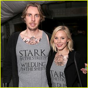 Kristen Bell & Dax Shepard Wear 'Game of Thrones' Tattoos to Season 6 Premiere!