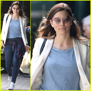 Jessica Biel Reveals the Questions She Has Had About Her Son Silas
