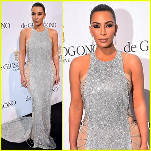 Kim Kardashian Sparkles On Red Carpet for Her Cannes Debut!