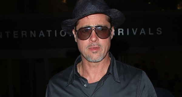 Brad Pitt Returns Home L. Le Mans 24 Hours