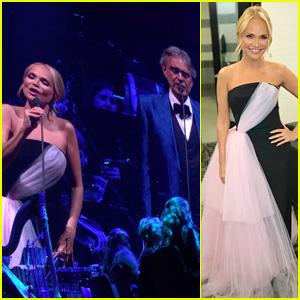 Kristin Chenoweth Joins Andrea Bocelli for Valentine's Concert in Miami!