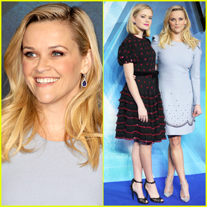 Reese Witherspoon & Lookalike Daughter Ava Phillippe Premiere 'A Wrinkle in Time' Together!