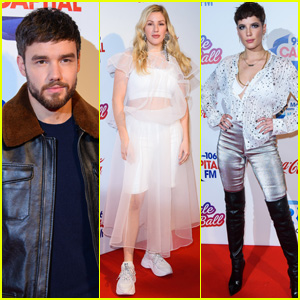 Liam Payne, Ellie Goulding & Halsey Attend Capital's Jingle Bell Ball in London!