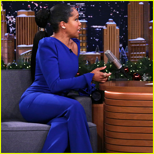 Regina King Tells 'Fallon' She 'Can't Say Anything' About HBO's 'Watchmen'