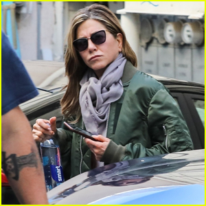 Jennifer Aniston Spends the Day at a Spa