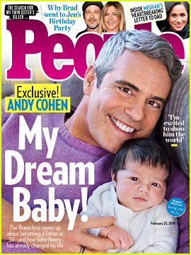 Andy Cohen Debuts His Son Benjamin - See His First Photo!