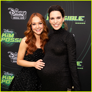 Pregnant Christy Carlson Romano Joins Live-Action 'Kim Possible' Cast at L.A. Premiere!
