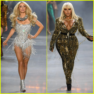Paris Hilton & Lil Kim Slay the Runway at The Blonds NYFW Show!
