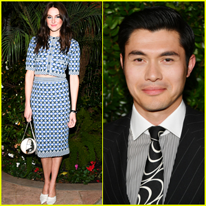 Shailene Woodley & Henry Golding Look Chic at Chanel Oscars Pre-Party!