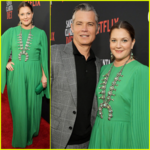 Drew Barrymore Premieres 'Santa Clarita Diet' Season 3 with Timothy Olyphant!