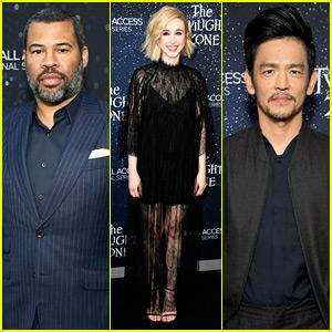 Jordan Peele Joins 'Twilight Zone' Actors at Hollywood Premiere!