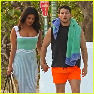 Priyanka Chopra Visits Nick Jonas on Music Video Shoot!