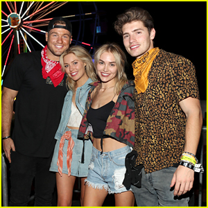 Colton Underwood & Gregg Sulkin Go On a Stagecoach Double Date with Randolph Sisters!