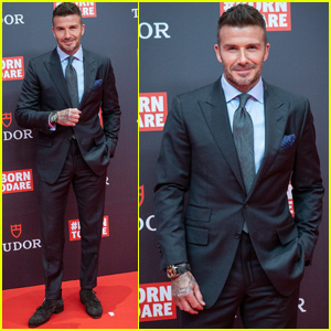 David Beckham Helps Launch 'Tudor's New Collection in Spain!