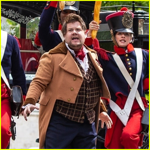 James Corden Performs 'Les Miserables' During Crosswalk the Musical in Paris!