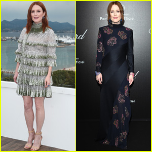 Julianne Moore Sparkles at 'The Staggering Girl' Photo Call at Cannes Film Fest