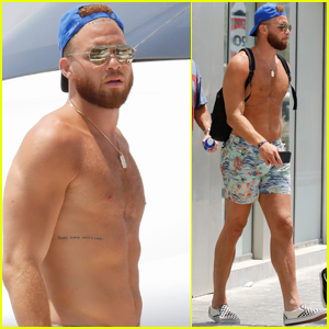 Shirtless Blake Griffin Bares Ripped Body on a Yacht in Ibiza!