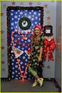 Disney Channel Stars Show Off Door Decorations! | Photo ...