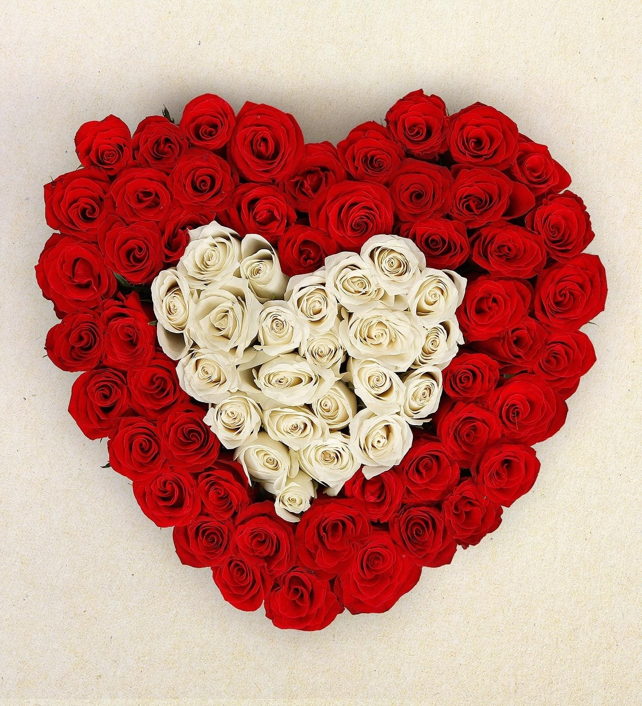 eternal love heart shaped