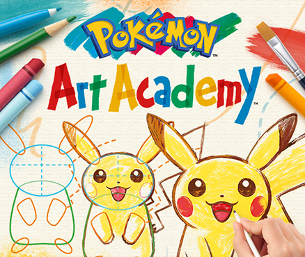 In Pokmon Art Academy Fr Nintendo 3DS Lieblings Pokmon