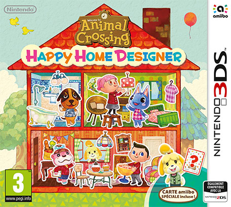 Animal Crossing Happy Home Designer Nintendo 3DS Jeux Nintendo