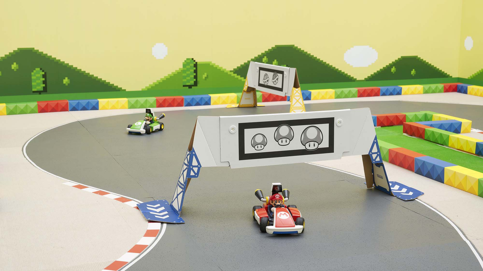 mario kart live home circuit jeux a
