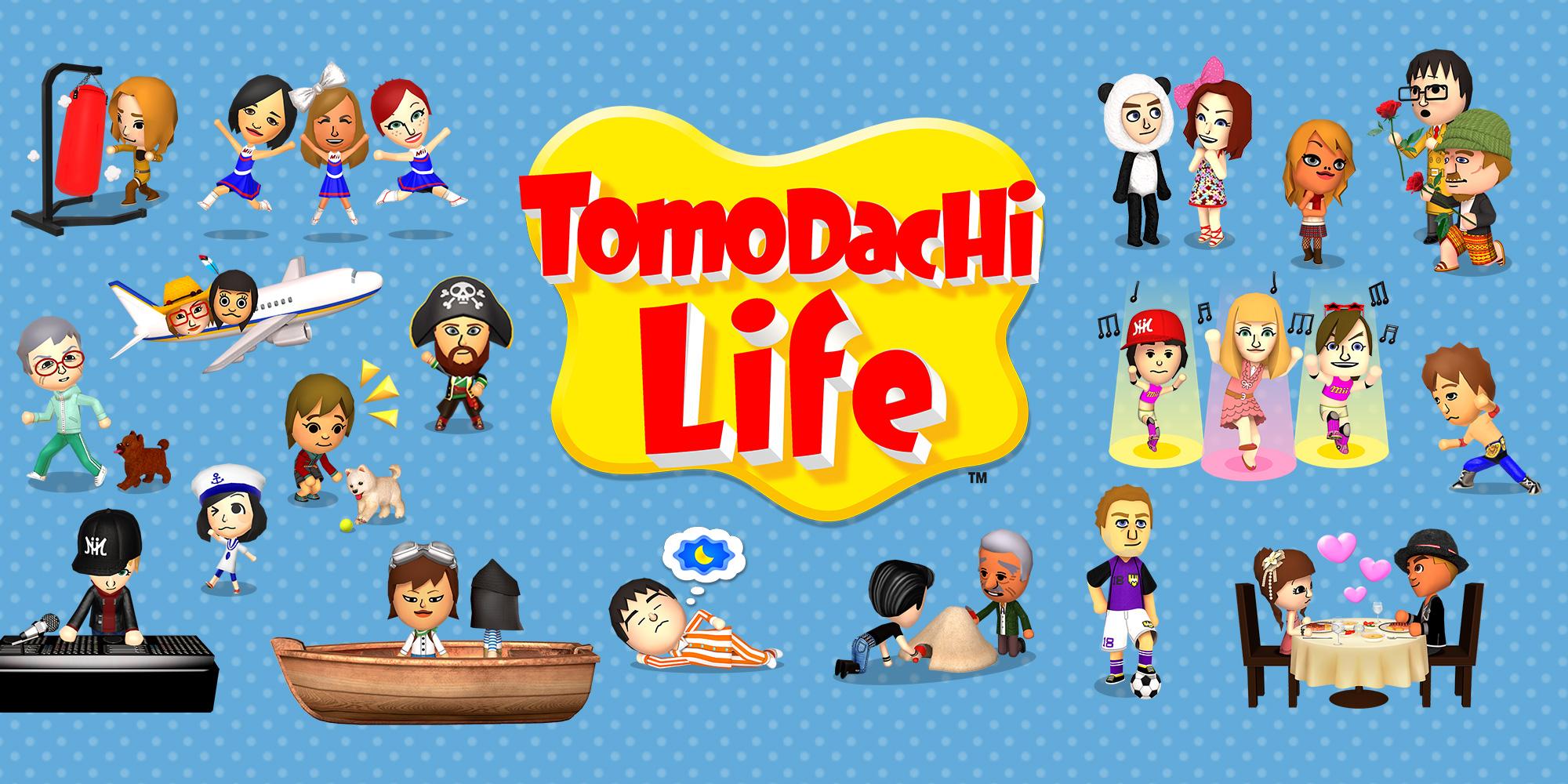 Tomodachi Life Nintendo 3DS Jeux Nintendo