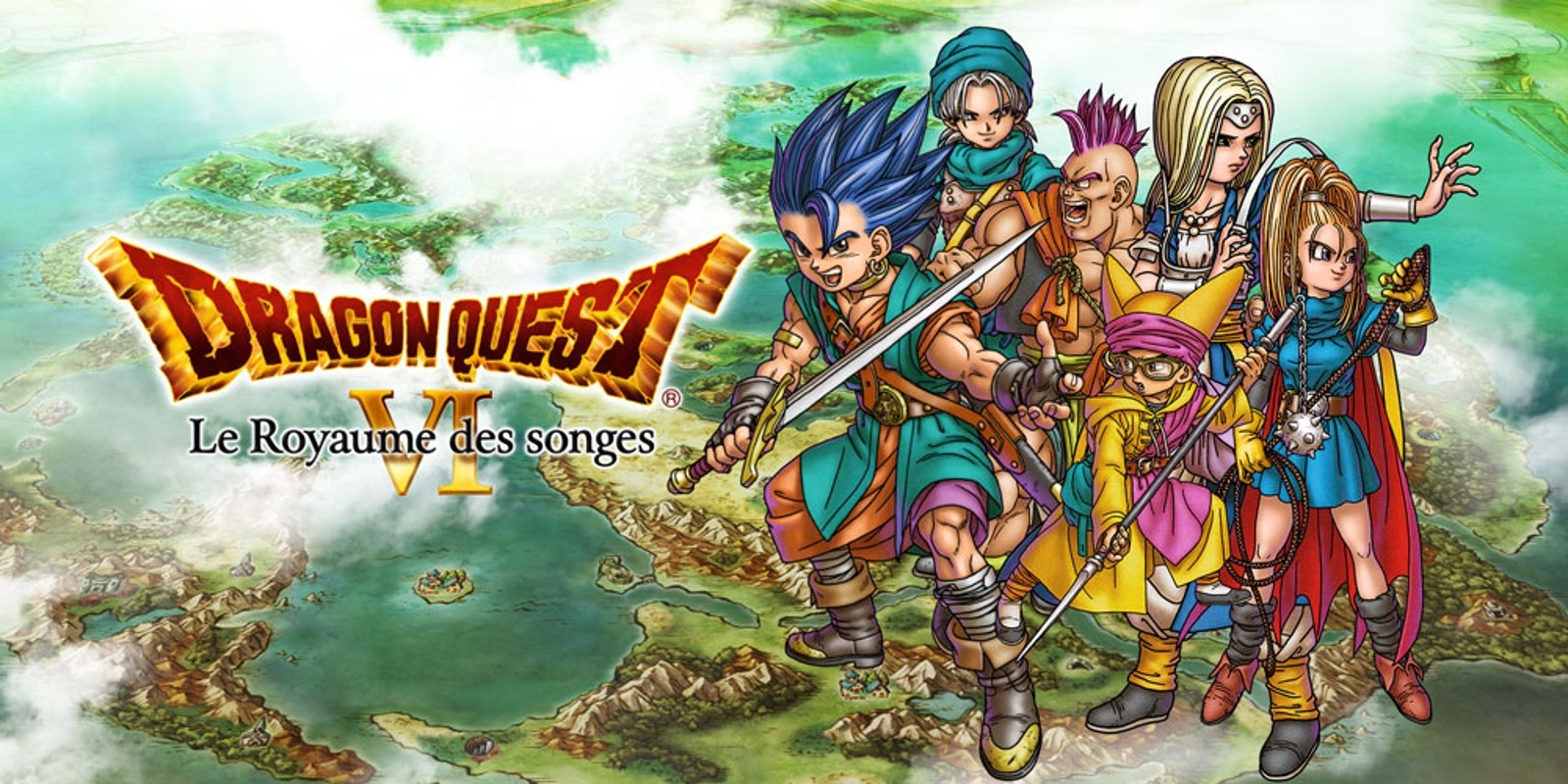 Dragon Quest Vi Fliegender Teppich Dragon Quest Vi Le Royaume Des Songes Nintendo Ds