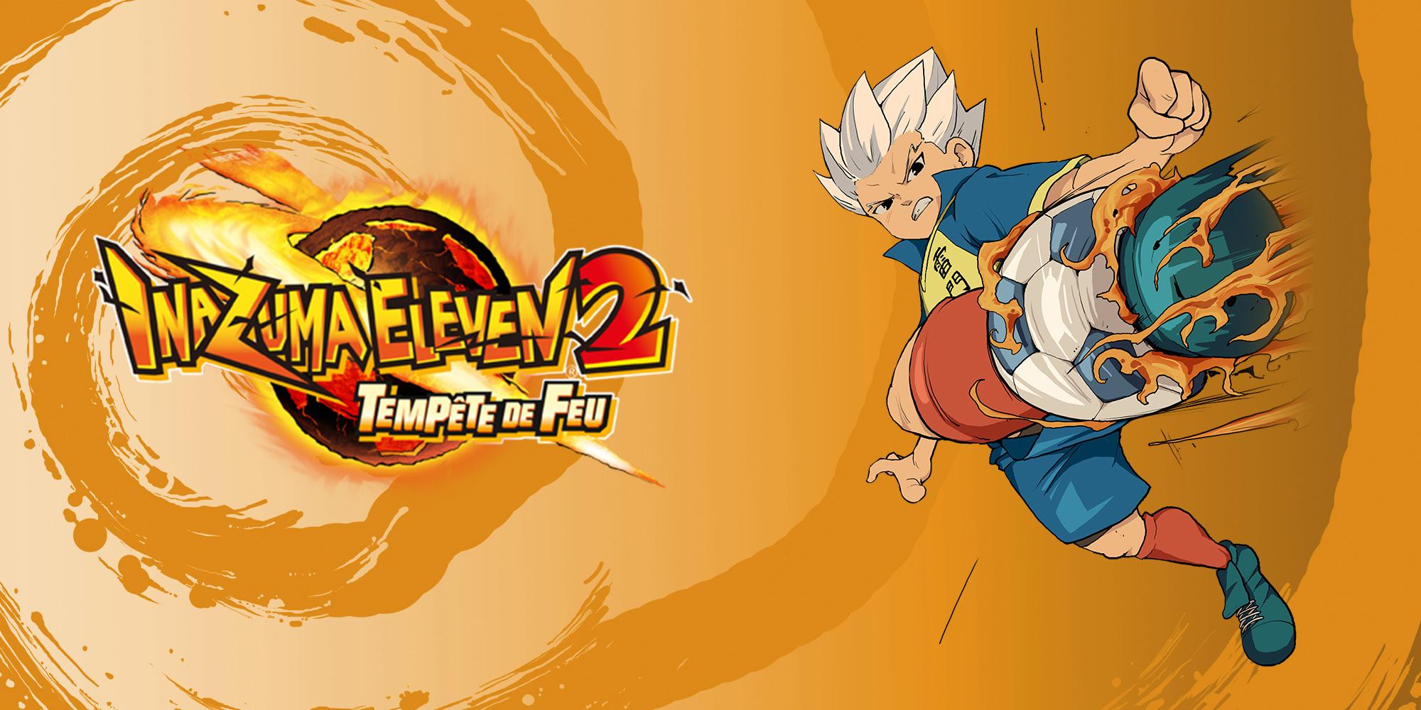 Inazuma Eleven 2 Tempte De Feu Nintendo DS Jeux