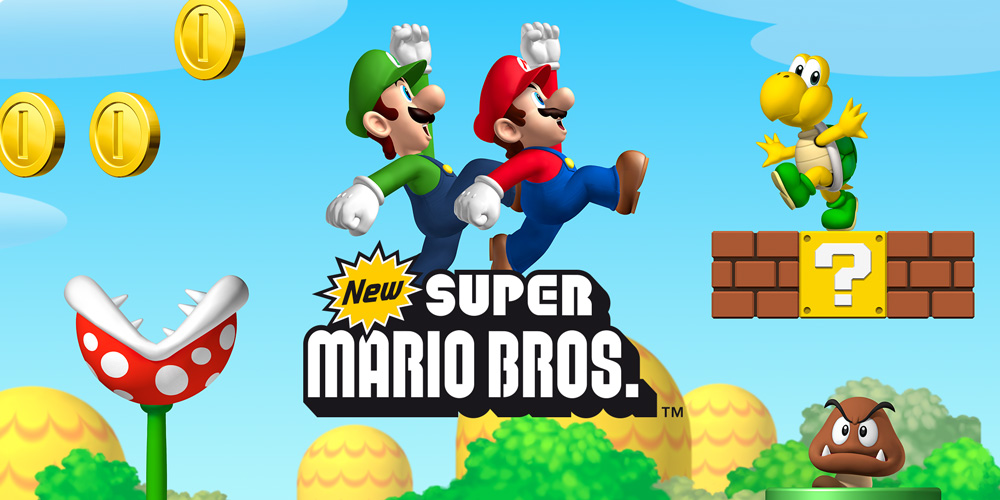 New Super Mario Bros Nintendo DS Jeux Nintendo