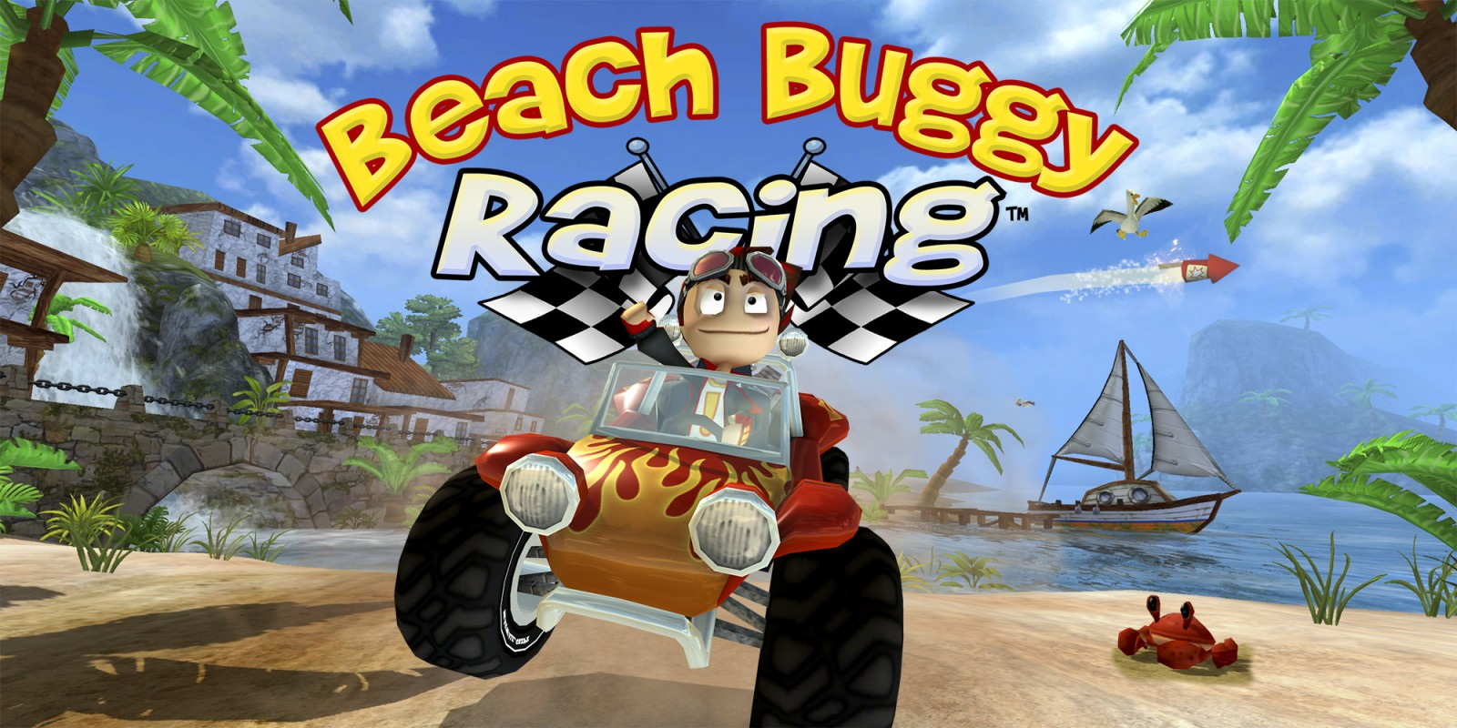 3d Action Game Wallpaper Beach Buggy Racing Jeux 224 T 233 L 233 Charger Sur Nintendo